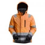 Snickers 1132 AllroundWork Hi-Vis Waterproof 37.5® Insulated Jacket Class 3