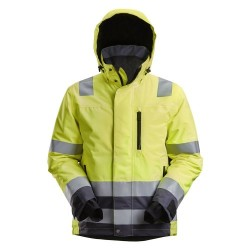 Snickers 1132 AllroundWork Hi-Vis Waterproof 37.5® Insulated Jacket Class 3