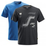 Snickers 2522 T-Shirt 2-Pack