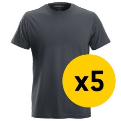 Snickers 5x 2502 T-Shirt Bundle