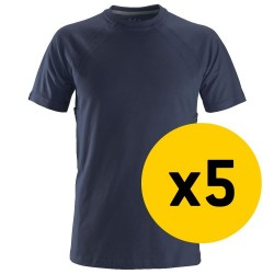 Snickers 5x 2504 T-Shirt Bundle