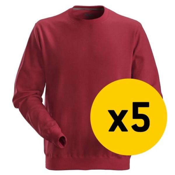 Snickers 5x 2810 Sweatshirt Bundle