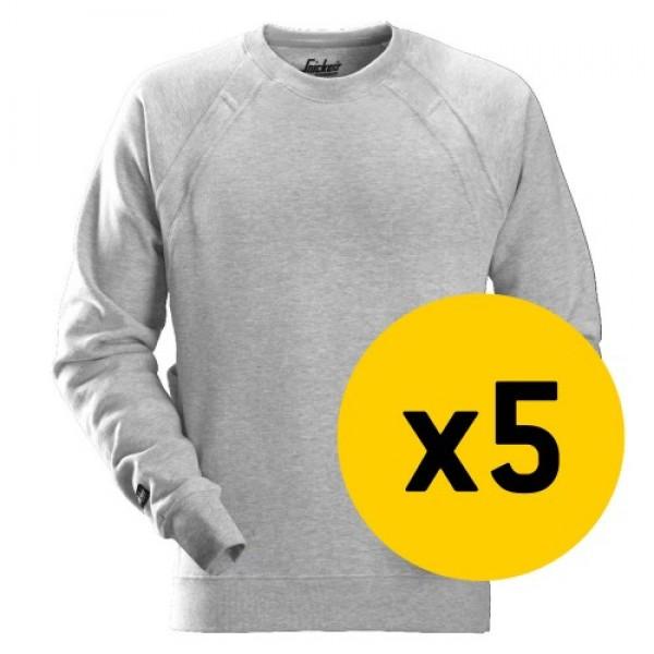 Snickers 5x 2812 Sweatshirt Bundle