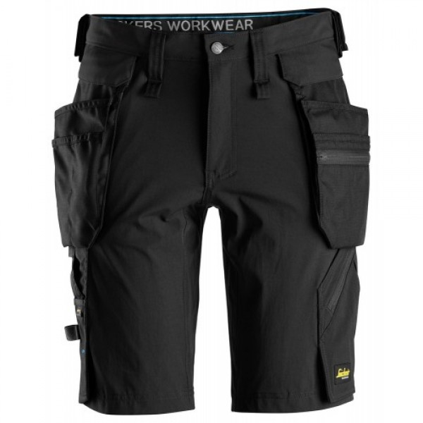 Snickers 6108 LiteWork Stretch Shorts Holster Pockets