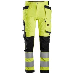 Snickers 6243 AllroundWork Hi-Vis Stretch Trousers Holster Pockets