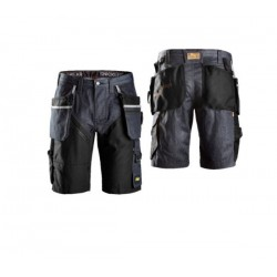 Snickers 6104 RuffWork Denim Shorts Holster Pockets