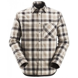 Snickers 8501 RuffWork Flannel Checked Shirt