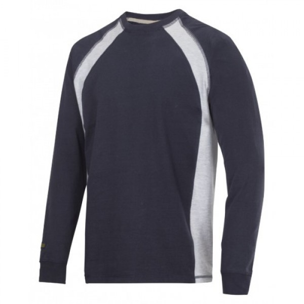 Snickers Workwear 2402 Long Sleeve T-shirt, Long Sleeve Snickers T-Shirt