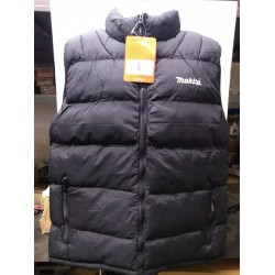 Stock Clearance Makita MW705 Black Bodywarmer Workwear 43 Inch Chest Size Large Brand New