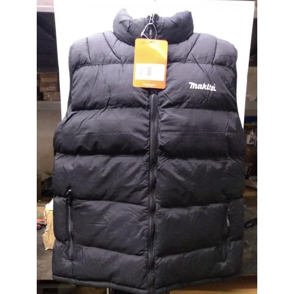 Stock Clearance Makita MW705 Black Bodywarmer Workwear 43 Inch Chest Size Large Brand New