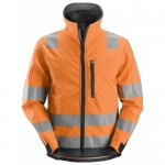 Snickers 1230 High-Visibility Softshell Jacket Class 3