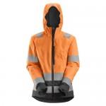 Snickers 1347 AllRoundWork Women's Hi-Vis Waterproof Shell Jacket