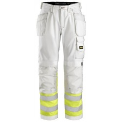 Snickers 3234 Painters Hi-Vis Trousers