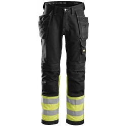 Snickers 3235 Hi-Vis Holster Pocket Trousers Class 1