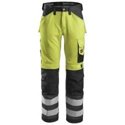 Snickers 3333 Hi-Vis Work Trousers