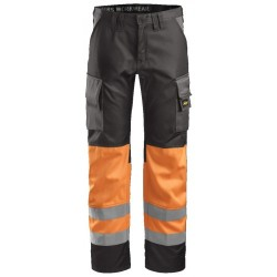 Snickers 3833 Hi-Vis Work Trousers Class 1