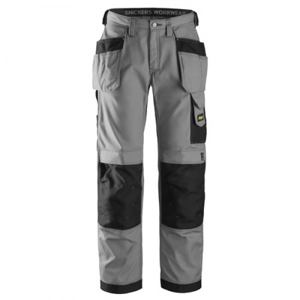 Snickers Workwear Trousers 3213 Craftsmen Holster Pocket Trousers, New Rip-Stop Snickers Trouser