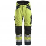 Snickers 6639 AllroundWork Hi-Vis 37.5® Insulated Trousers
