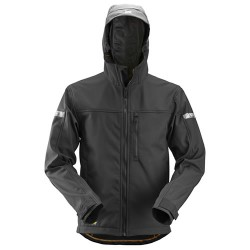Snickers 1229 AllroundWork Soft Shell Jacket With Hood