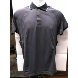 Snickers Workwear 2707 Polo Shirt Grey Small Chest 38 (004) ex Display Stock Clearance