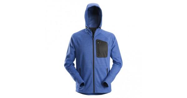 4bfa3c98 Snickers Workwear 8041 FlexiWork Fleece Hoodie