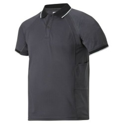 Snickers Workwear 2707 Polo Shirt Steel Grey Chest 38 004 ex Display Stock Clearance