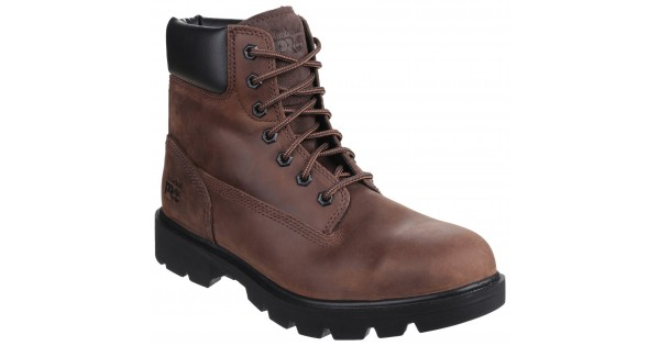 5367731eee8 Timberland Pro Sawhorse Brown Safety Boots Non-Metallic Toe Caps & Steel  Midsole