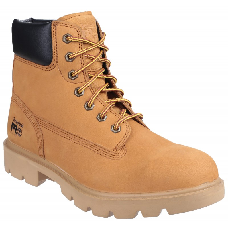 d95828617534 Timberland Pro Sawhorse Wheat Safety Boots Non-Metallic Toe Caps ...