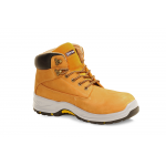 Titan Holton Honey Leather Steel Toe Mid-Sole Slip Heat Oil Resistant Safety Work Boots Shoe