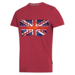 Snickers 2502 T-Shirt With Your Flag