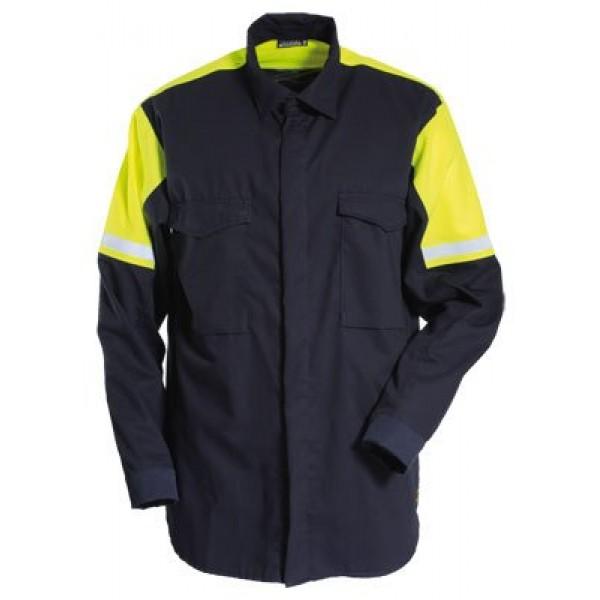 Tranemo Cantex Flame-Retardant Shirt Hi-Vis