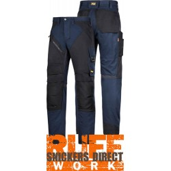 Snickers 6303 Ruffwork Pocket Trousers, New Snickers Ruffwork Trouser