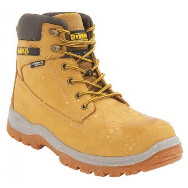 DeWalt Honey Safety Boots With Steel Toe Cap