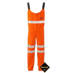 GORE-TEX Salopette 3 Layer Orange Class 2 High Viz