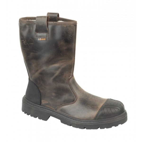 Jallatte Jalbox Rigger Boots with Composite Toe Caps And Steel Midsole