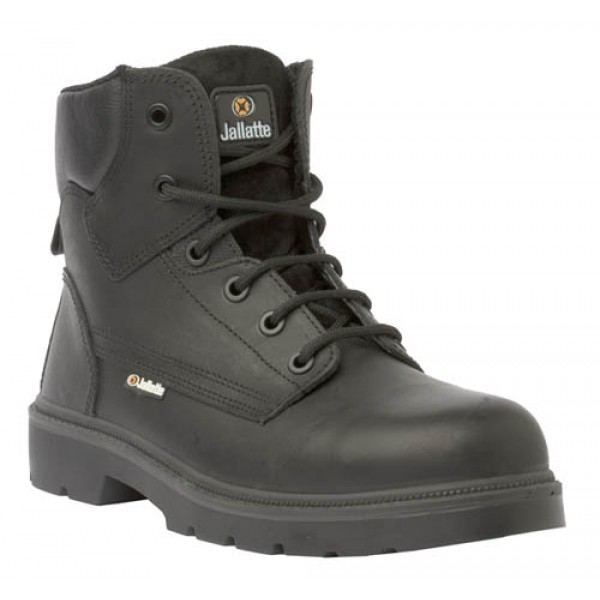 Jallatte Jalgeraint Safety Boots with Composite Toe Cap and Midsole Metal Free