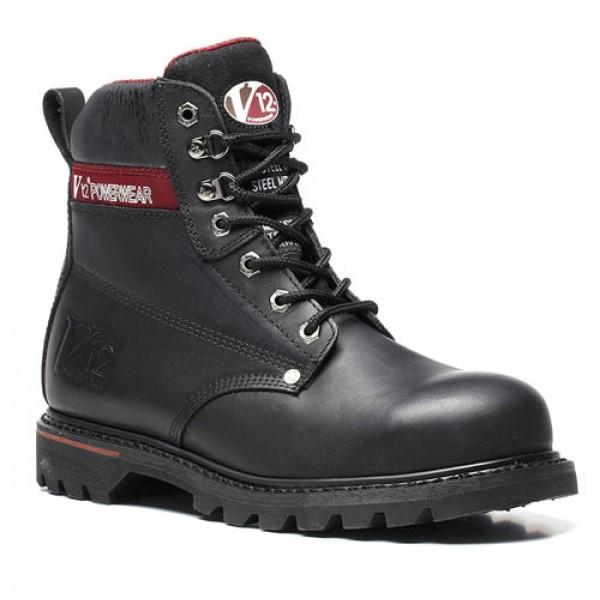 Vtech V12 V1235 Boulder Derby Safety Boots With Steel Toe Caps and Midsole