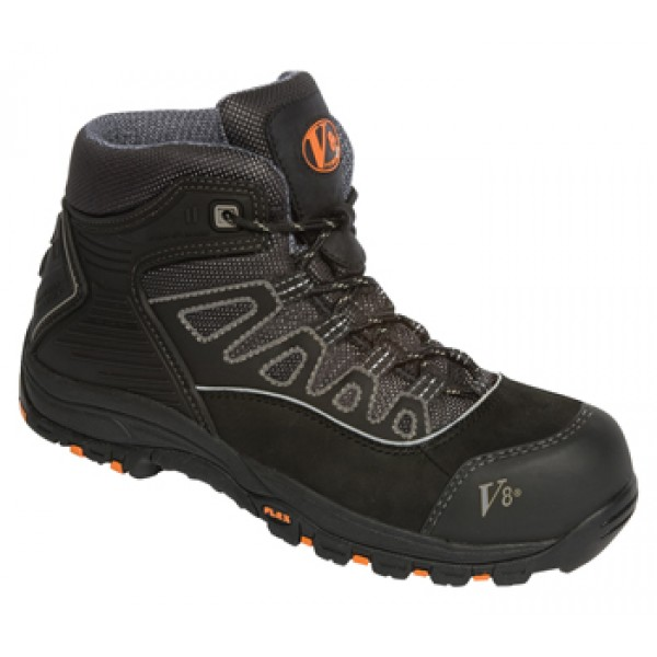 Vtech V8438 Aztec Black - Silver Urban Hiker With Composite Toe Caps & Midsole