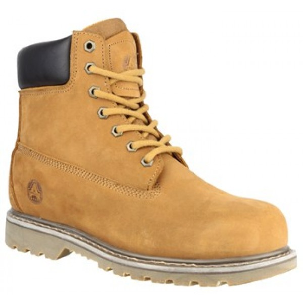 Amblers FS169 Welted Safety Boots with Steel Toe Caps & Midsole