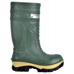 Cofra Thermic Safety Green Wellingtons Composite Toe Caps Midsole Metal Free Safety Wellingtons - Non Metallic
