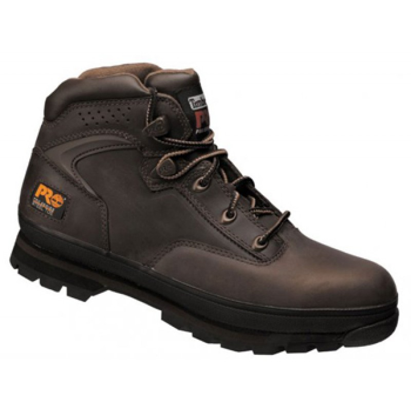 516c8bc4bd8 Timberland Pro New Euro Hiker Brown Safety Boots Steel Toe Caps & Midsole  6201065