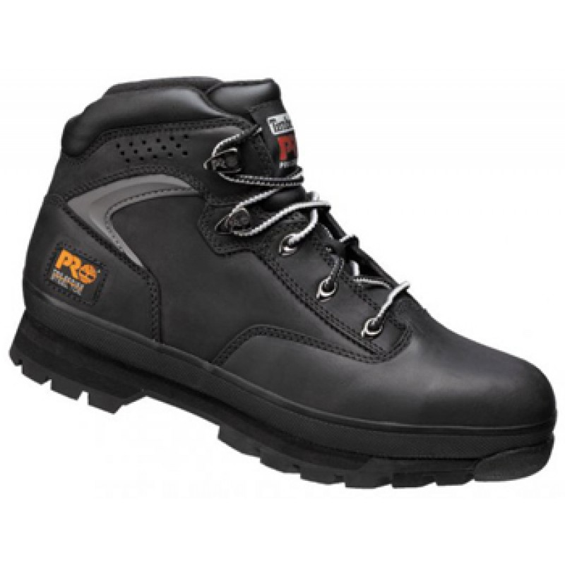 77608cfbc74e Timberland Pro New Euro Hiker Black Safety Boots Steel Toe Caps ...