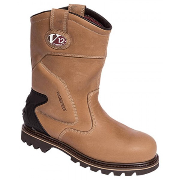 Vtech V1250 Tomahawk Leather Thinsulate Lined Work Rigger Boots With Steel Toe Caps
