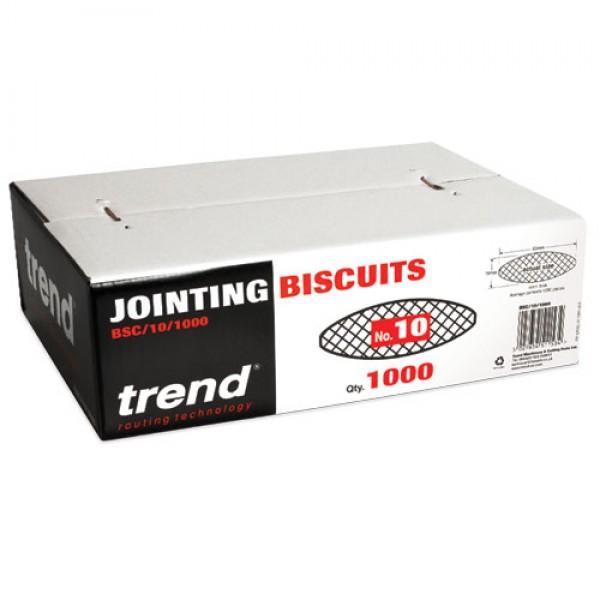 TREND BSC/10/1000 Biscuit No 10 1000 off