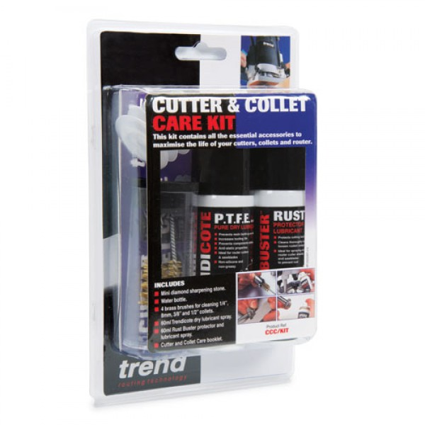 TREND CCC/KIT Cutter and collet care kit UK mainland only