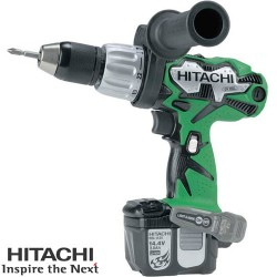 Hitachi DV14DL 14.4v Combi Drill - 2 x 3.0Ah Li-ion Batteries