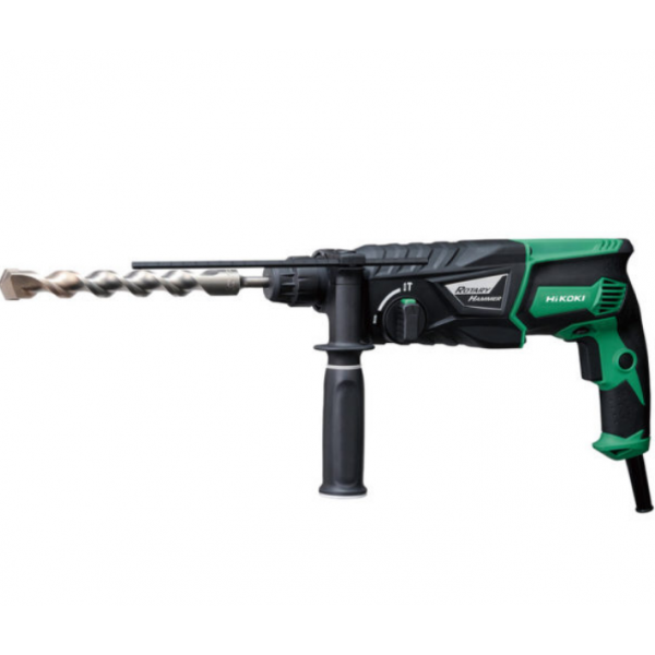 HiKOKI DH26PX/J1 SDS Plus 3-Mode Rotary Hammer 830W 110V or 240V