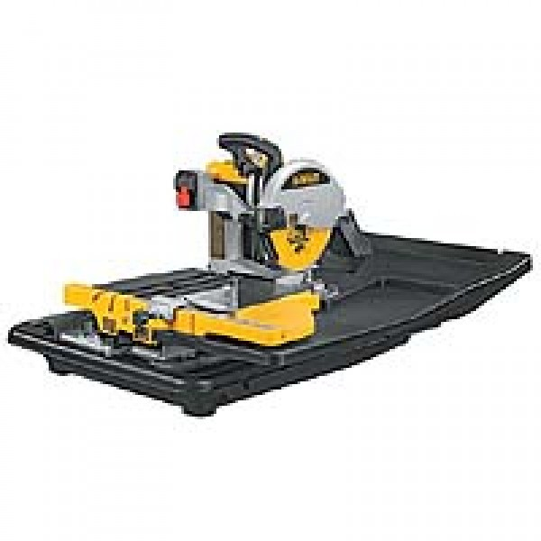 Dewalt D24000 Slide Table Wet Tile Saw 110v or 240v