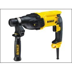 Dewalt D25133K SDS Plus 3 Mode 26mm Hammer Drill 110v or 240v