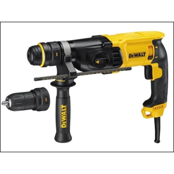 Dewalt D25134K SDS 3 Mode QCC Hammer Drill 110v or 240v